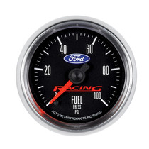 AUTOMETER 880080 2-1/16in. FUEL PRESSURE; 0-100 PSI; FORD RACING
