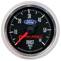 AUTOMETER 880106 2-1/16in. BOOST; 0-60 PSI; FORD RACING