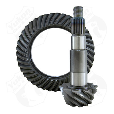 YUKON GEAR AND AXLE YG D44JK-411RUB High Performance  Replacement Ring And Pinion Gear Set For Dana 44 JK In A 4.11 Ratio 24 Spine