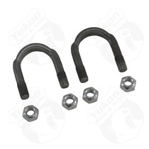 YUKON GEAR AND AXLE YY UB-F9-1310 1310 And 1330 U/Bolt Kit 2 U-Bolts And 4 Nuts For 9 Inch Ford