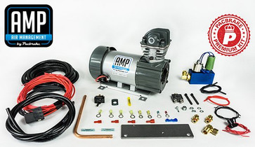 PACBRAKE HP10629 12V HP625 Series Preminum Heavy Duty Air Compressor Kit Vertical Pump Head HP10625V Air Compressor Entire Unloader Block Assembly Kit With Pre-Built Harnesses Kit HP10116