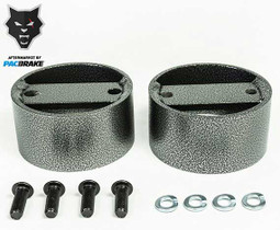 PACBRAKE HP10152 2 INCH AIR SUSPENSION SPACER KIT FOR USE WITH SINGLE AND DOUBLE CONVOLUTED SPRING KITS