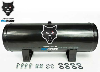 PACBRAKE HP10093 2 1/2 GALLON CARBON STEEL BASIC AIR TANK KIT CONSISTS OF AIR TANK AND REQUIRED HARDWARE