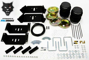 PACBRAKE HP10019 HEAVY DUTY REAR AIR SUSPENSION KIT FOR SELECT DODGE, FORD, CHEVROLET / GMC AND MAZDA TRUCKS