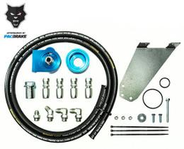 PACBRAKE HP10016 REMOTE OIL FILTER KIT FOR 03-07 DODGE RAM 5.9L CUMMINS W/FILTER THREAD OF 1 INCH X 16 UN