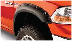 BUSHWACKER 50911-02 POCKET STYLE FENDER FLARE SET (2006-2009 DODGE RAM 2500/3500 (LONG BED))