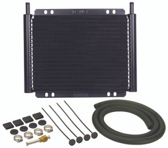 DERALE 13503 18 ROW SERIES 8000 PLATE & FIN TRANSMISSION COOLER KIT