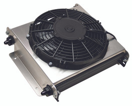 DERALE 13870 40 ROW HYPER-COOL EXTREME REMOTE COOLER, -6AN