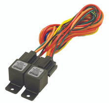 DERALE 16765 40/60 AMP DUAL RELAY W/WIRING HARNESS
