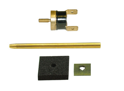 DERALE 18748 180 DEGREE THERMOSTAT PROBE AND CLIP ASSEMBLY