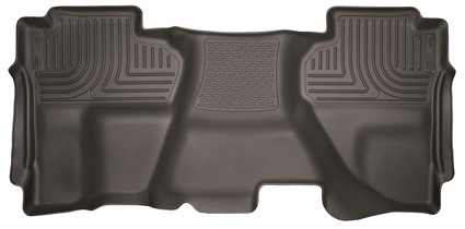 HUSKY LINERS 53910 14-18 Silverado/Seirra 1500/2500 HD/3500 HD Double Cab 2nd Seat Floor Liner Full Coverage Cocoa  Liners