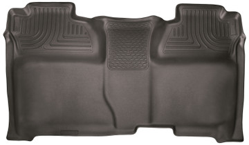 HUSKY LINERS 53900 14-18 Silverado/Seirra 1500/2500 HD/3500 HD Crew Cab 2nd Seat Floor Liner Full Coverage Cocoa  Liners