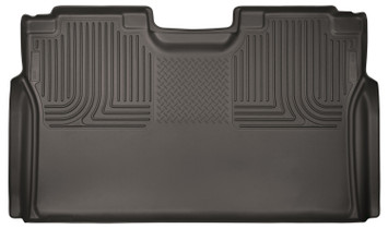 HUSKY LINERS 53490 15-18 Ford F-150/F-250/F-350/F-450 Super Duty Vehicle Does Not Have Factory Storage Box 2nd Seat Floor Liner Full Coverage Cocoa  Liners