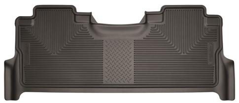 HUSKY LINERS 53380 17-18 Ford F-250/F-350/F-450 Super Duty 2nd Seat Floor Liner With Factory Box Cocoa  Liners