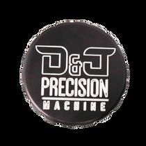 D&J PRECISION MACHINE Anodized Billet D&J PRECISION MACHINE Precision Machine Oil Cap Cover