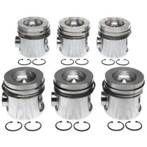 MAHLE 224-3523WR.020 PISTON WITH RINGS (.020) 1991-1993 DODGE 5.9L CUMMINS (INTERCOOLED MODELS ONLY)