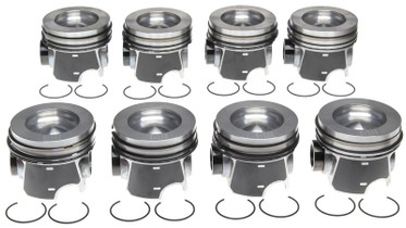 MAHLE 224-3953WR-0.50MM PISTON WITH RINGS (.50MM - REDUCED COMPRESSION) 2008-2010 FORD 6.4L POWERSTROKE | NAVISTAR MAXX FORCE 7