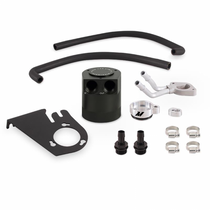 MISHIMOTO MMBCC-F2D-11BE Ford 6.7L Powerstroke Baffled Oil Catch Can Kit 2011-2016