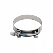 "MISHIMOTO MMCLAMP-375  STAINLESS STEEL T-BOLT CLAMP, 3.62""–3.93"" (92MM–100MM)"
