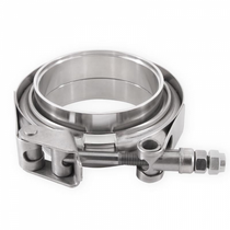 MISHIMOTO MMCLAMP-VS-35  Stainless Steel V-Band Clamp 3.5in (88.9mm)