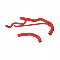 MISHIMOTO MMHOSE-CHV-01DRD SILICONE COOLANT KIT, FITS CHEVROLET/GMC 6.6L DURAMAX 2001-2005 - RED