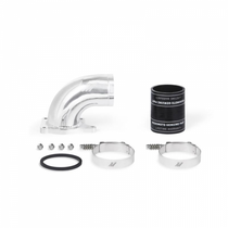 MISHIMOTO MMIE-F2D-03P INTAKE ELBOW, FITS FORD 6.0L POWERSTROKE 2003-2007 - POLISHED