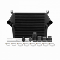 MISHIMOTO MMINT-RAM-03KBK INTERCOOLER KIT, FITS DODGE 5.9L CUMMINS 2003-2007 - BLACK