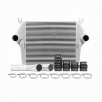 MISHIMOTO MMINT-RAM-03KSL INTERCOOLER KIT, FITS DODGE 5.9L CUMMINS 2003-2007 - SILVER