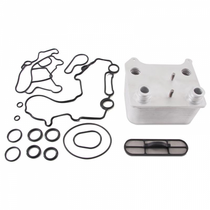 MISHIMOTO MMOC-F2D-03 2003-2007 FORD 6.0L POWERSTROKE REPLACEMENT OIL COOLER, 2003–2007