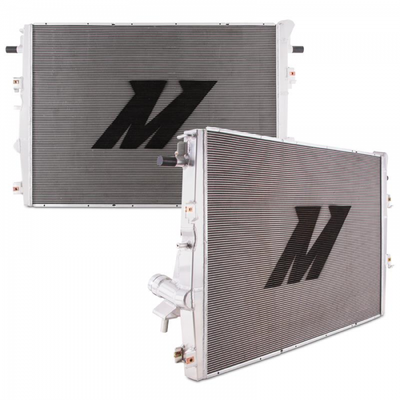 MISHIMOTO MMRAD-F2D-17 ALUMINUM PRIMARY RADIATOR, FITS FORD 6.7L POWERSTROKE 2017+