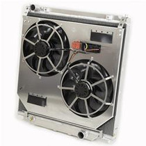 FLEX-A-LITE 113746 EXTRUDED TUBE CORE PERFORMANCE RADIATOR WITH FANS 2003-2007 FORD 6.0L POWERSTROKE