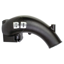 BD DIESEL 1041555 X-Flow Power Intake Elbow (Black)-Dodge 2003-2007 5.9L