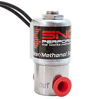 SNOW PERFORMANCE SNO-40060  Performance High Flow Water-Methanol Solenoid Upgrade Quick-Connect Fittings For Use With All Water-Methanol Injection Systems Using 1/4 in High Temp Nylon Tubing