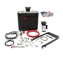 SNOW PERFORMANCE SNO-50100 Diesel Stage 3 Boost Cooler Water-Methanol Injection Kit Universal (Red High Temp Nylon Tubing  Quick-Connect Fittings) All Turbo Diesel Engines