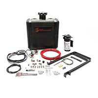 SNOW PERFORMANCE SNO-530 DIESEL STAGE 3 BOOST COOLER WATER-METHANOL INJECTION KIT CHEVY/GMC LBZ/LLY/LMM/LML/L5P DURAMAX (RED HIGH TEMP NYLON TUBING, QUICK-CONNECT FITTINGS)