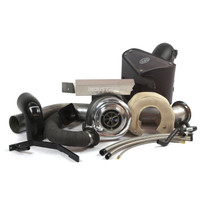 INDUSTRIAL INJECTION 227401 CUMMINS 3RD GEN 5.9L COMPOUND STOCK ADD-A-TURBO KIT (2003-2007)