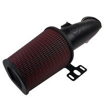 S&B FILTERS 75-6001 Open Air Intake Cotton Cleanable Filter For 17-19 Ford F250 / F350 V8-6.7L Powerstroke