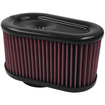 S&B FILTERS KF-1064 AIR FILTER FOR INTAKE KITS 75-5086,75-5088,75-5089 OILED COTTON CLEANABLE RED