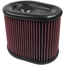 S&B FILTERS KF-1062 AIR FILTER FOR INTAKE KITS 75-5075 OILED COTTON CLEANABLE RED