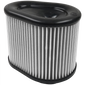 S&B FILTERS KF-1061D AIR FILTER FOR INTAKE KITS 75-5074 DRY EXTENDABLE WHITE