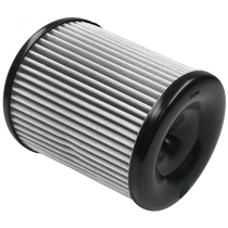 S&B FILTERS KF-1057D AIR FILTER FOR INTAKE KITS 75-5060, 75-5084 DRY EXTENDABLE WHITE