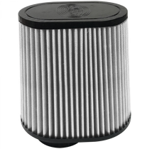 S&B FILTERS KF-1042D AIR FILTER FOR INTAKE KITS 75-5028 DRY EXTENDABLE WHITE
