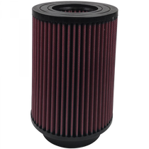 S&B FILTERS KF-1041 AIR FILTER FOR INTAKE KITS 75-5027 OILED COTTON CLEANABLE RED