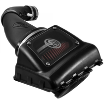 S&B FILTERS 75-5108 COLD AIR INTAKE FOR 11-16 FORD F250, F350 V8-6.2L OILED COTTON CLEANABLE RED