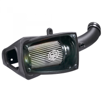 S&B FILTERS 75-5104D Cold Air Intake For 11-16 Ford F250 F350 V8-6.7L Powerstroke Dry Extendable White