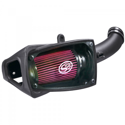 S&B FILTERS 75-5104 COLD AIR INTAKE FOR 11-16 FORD F250 F350 V8-6.7L POWERSTROKE COTTON CLEANABLE RED