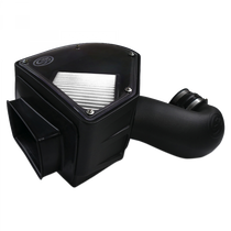 S&B FILTERS 75-5090D Cold Air Intake For 94-02 Dodge Ram 2500 3500 5.9L Cummins Dry Extendable White