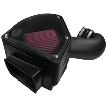 S&B FILTERS 75-5090 COLD AIR INTAKE FOR 94-02 DODGE RAM 2500 3500 5.9L CUMMINS COTTON CLEANABLE RED