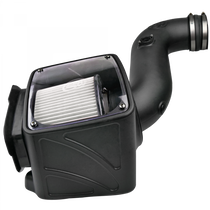 S&B FILTERS 75-5080D Cold Air Intake For 06-07 Chevrolet Silverado GMC Sierra V8-6.6L LLY-LBZ Duramax Dry Extendable White