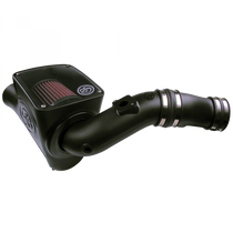 S&B FILTERS 75-5070 COLD AIR INTAKE FOR 03-07 FORD F250 F350 F450 F550 V8-6.0L POWERSTROKE COTTON CLEANABLE RED
